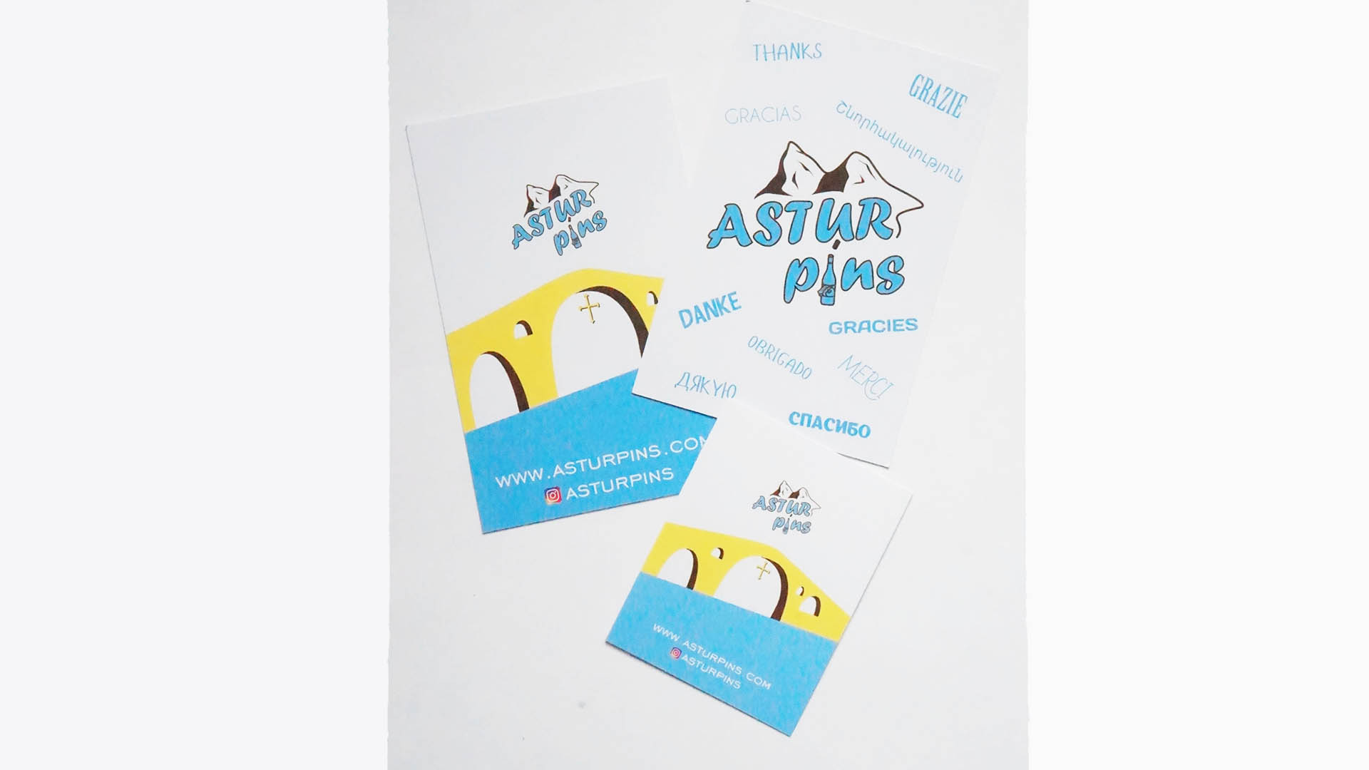 astur pins cards