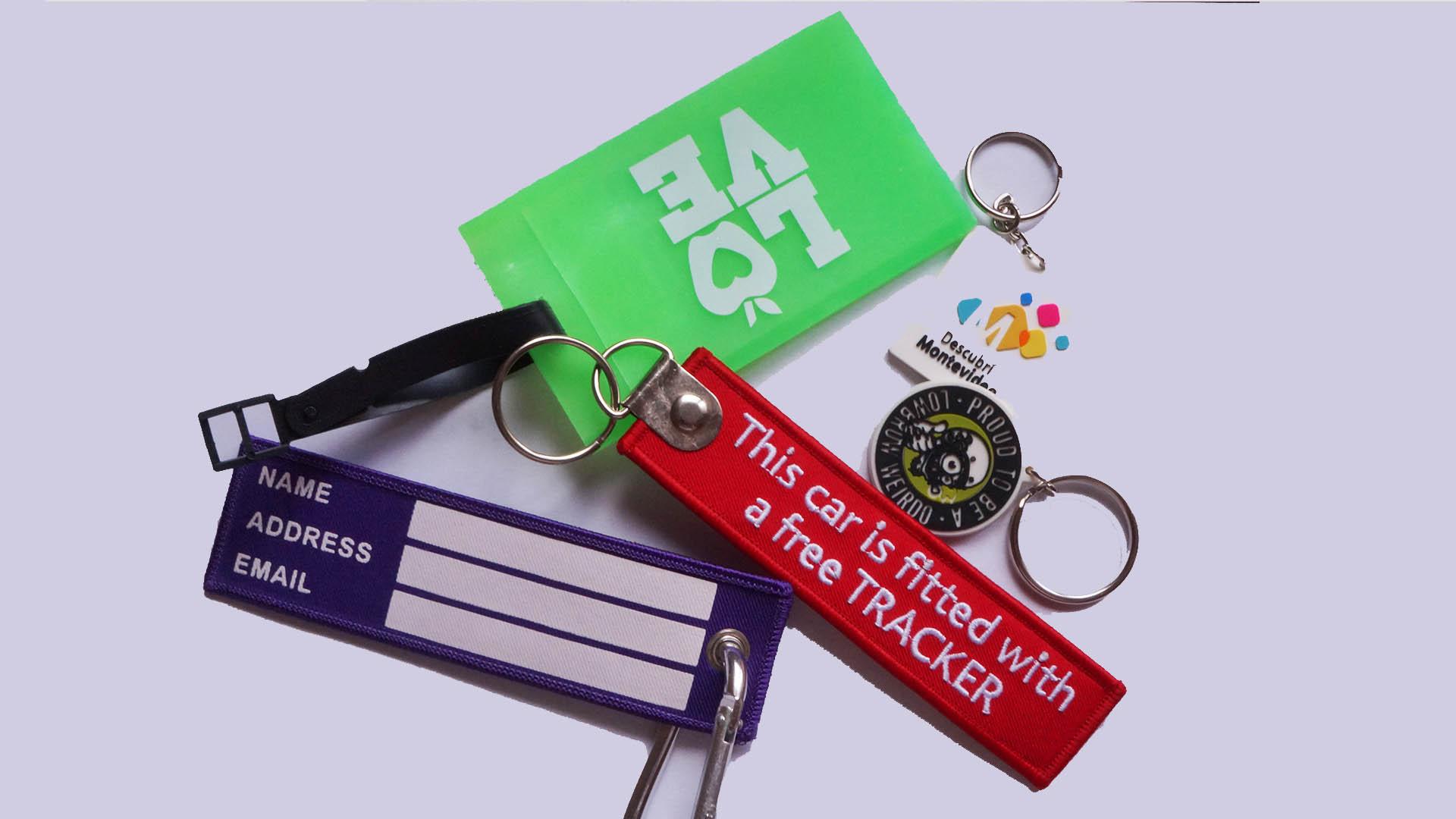 4 custom keychains