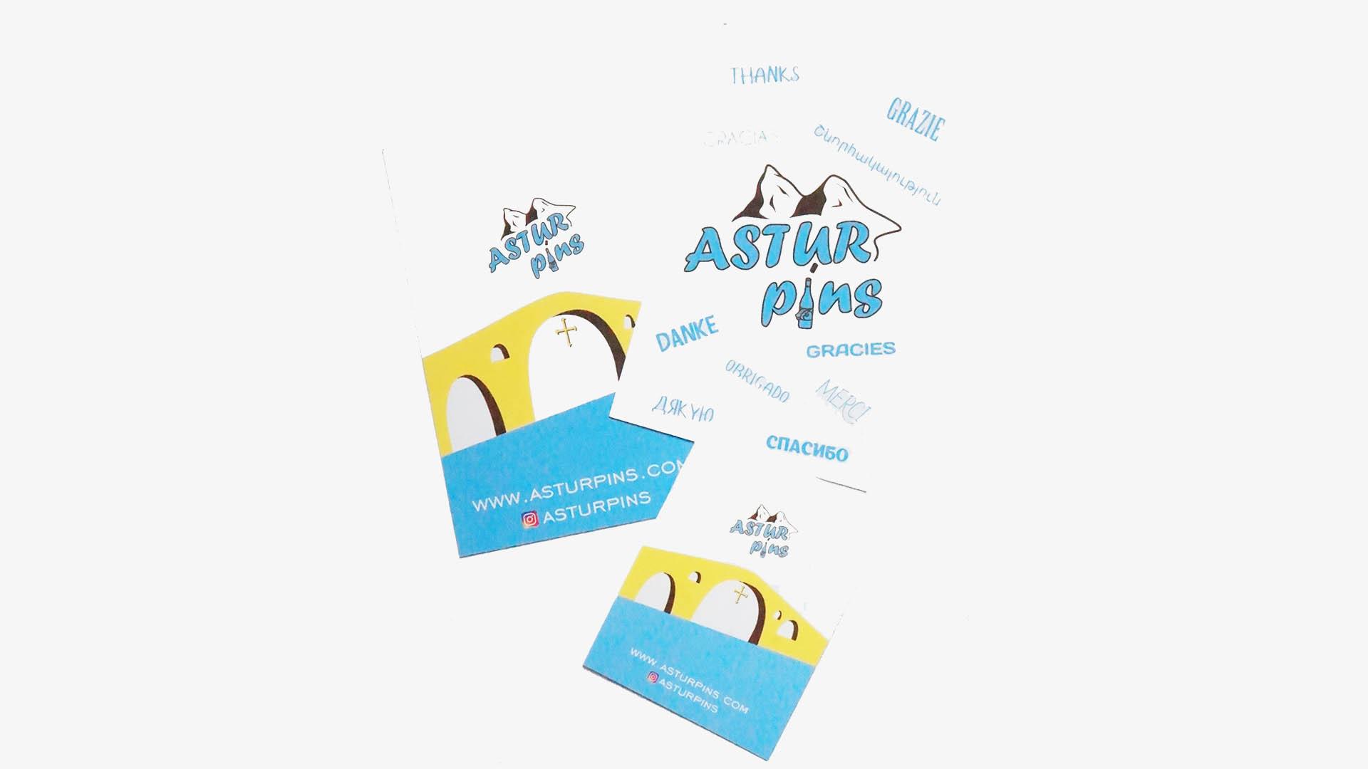 astur pins cards