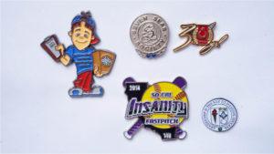 5 custom pins