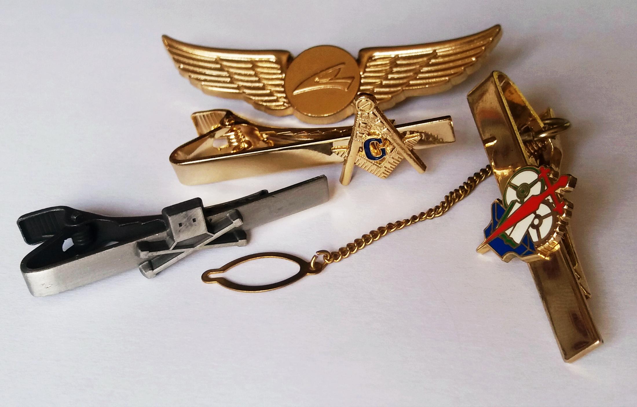 custom tie-clips